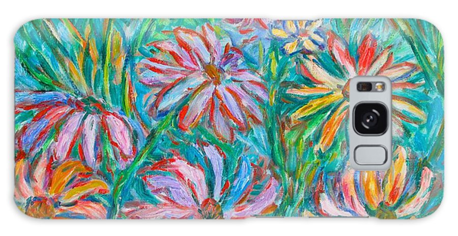 Impressionist Galaxy Case featuring the painting Swirling Color by Kendall Kessler