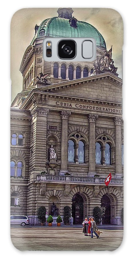 Switzerland Galaxy S8 Case featuring the photograph Swiss Federal Palace by Hanny Heim
