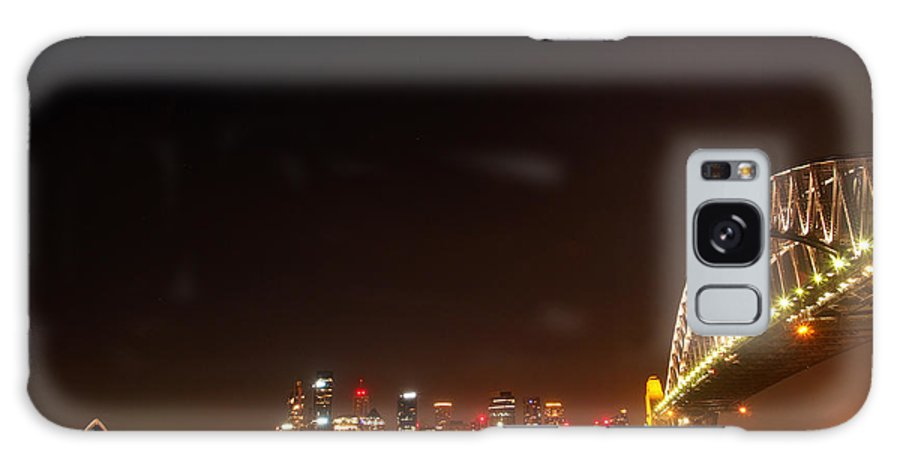 Sydney Galaxy S8 Case featuring the photograph Sydney By Night by Kaleidoscopik Photography