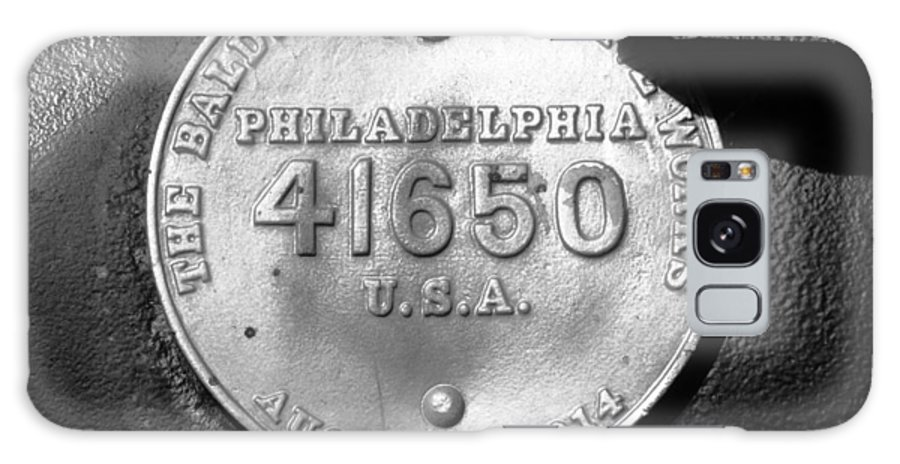Baldwin Locomotive Works Philadelphia Galaxy S8 Case featuring the photograph Symbol Of Pride by David Lee Thompson