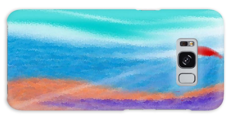 Landscape Galaxy Case featuring the digital art Symphony Of Evening by Dr Loifer Vladimir