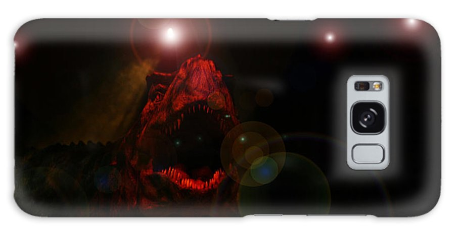 Tyrannosaurus Rex Dinosaur Extinct Teeth Killer Jaws Galaxy S8 Case featuring the photograph T Rex by Andrea Lawrence