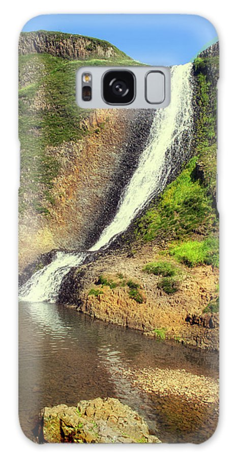 Waterfall Galaxy S8 Case featuring the photograph Table Mountain Waterfalls by Frank Wilson