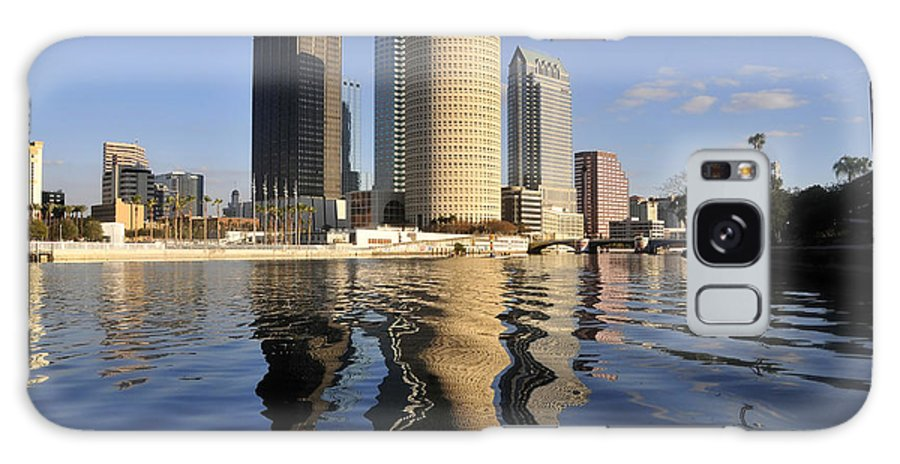 Tampa Bay Florida Galaxy S8 Case featuring the photograph Tampa Florida 2010 by David Lee Thompson