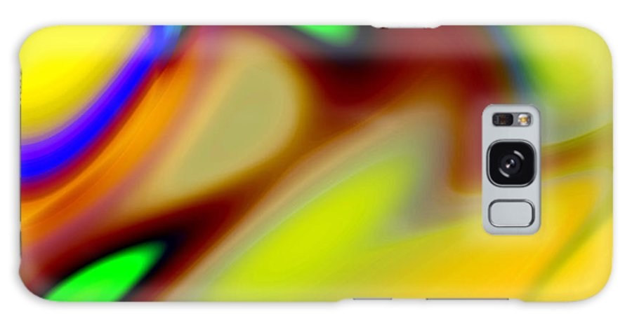 Abstract Galaxy Case featuring the digital art Tango by Ruth Palmer