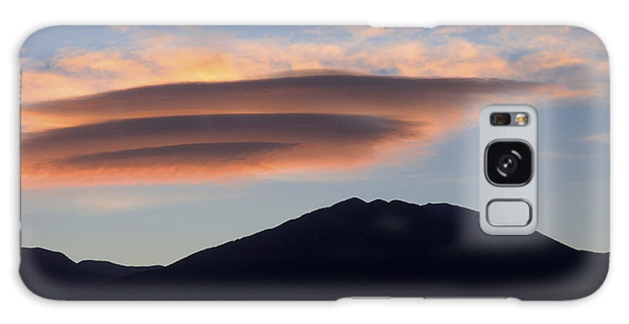 Taos Galaxy S8 Case featuring the photograph Taos Sunset by Jerry McElroy