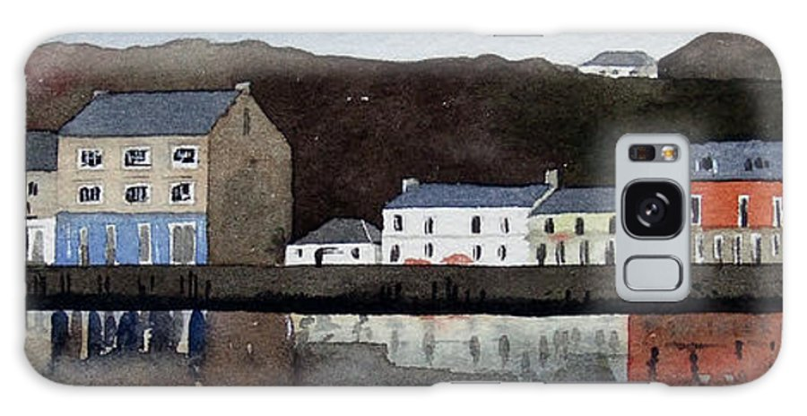 Landscape Galaxy S8 Case featuring the painting Tarbert by Paul Dene Marlor