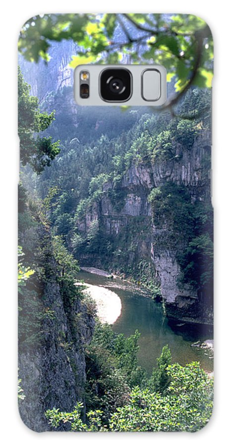 France Galaxy S8 Case featuring the photograph Tarn by Flavia Westerwelle
