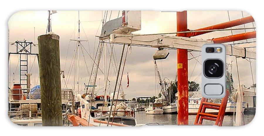 Florida Galaxy S8 Case featuring the photograph Tarpon Springs Harbor by Ian MacDonald