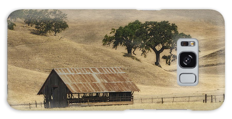Landscapes Galaxy S8 Case featuring the photograph Tassajara Road by Karen W Meyer