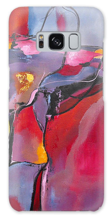 ruth Palmer Galaxy S8 Case featuring the painting Teamwork by Ruth Palmer