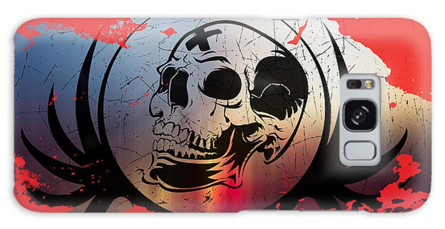 Tears Galaxy S8 Case featuring the digital art Tears Of A Clown by Michael Damiani