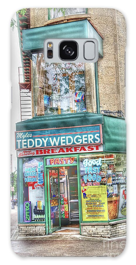 Madison Wisconsin Galaxy S8 Case featuring the photograph Teddywedgers by David Bearden