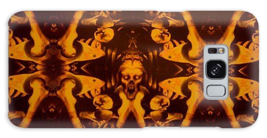 Dark Galaxy Case featuring the digital art Tedious Stare by Steve Spagnola