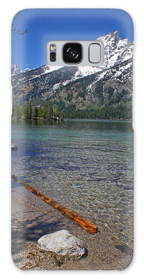 Grand Tetons Galaxy S8 Case featuring the photograph Teewinot by Heather Coen