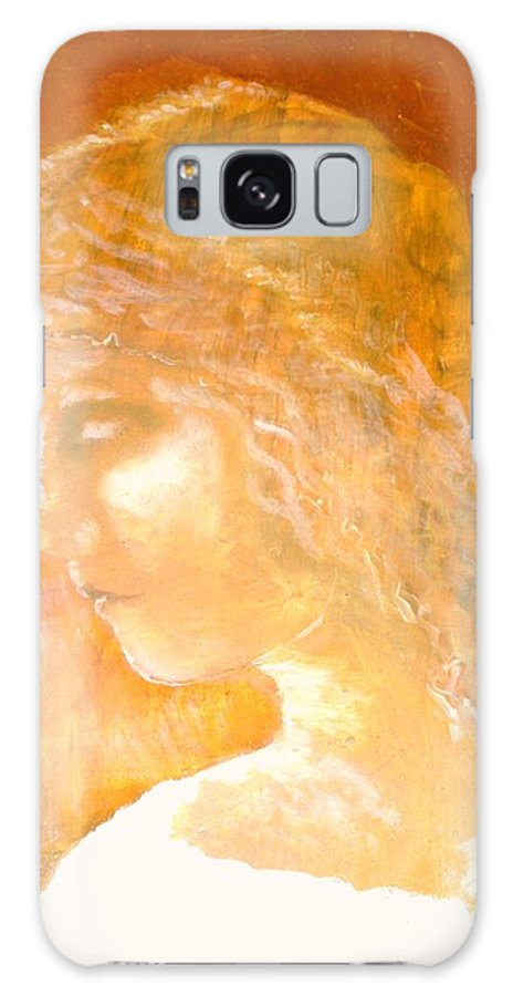 Angel Galaxy S8 Case featuring the painting Tender Mercy by J Bauer