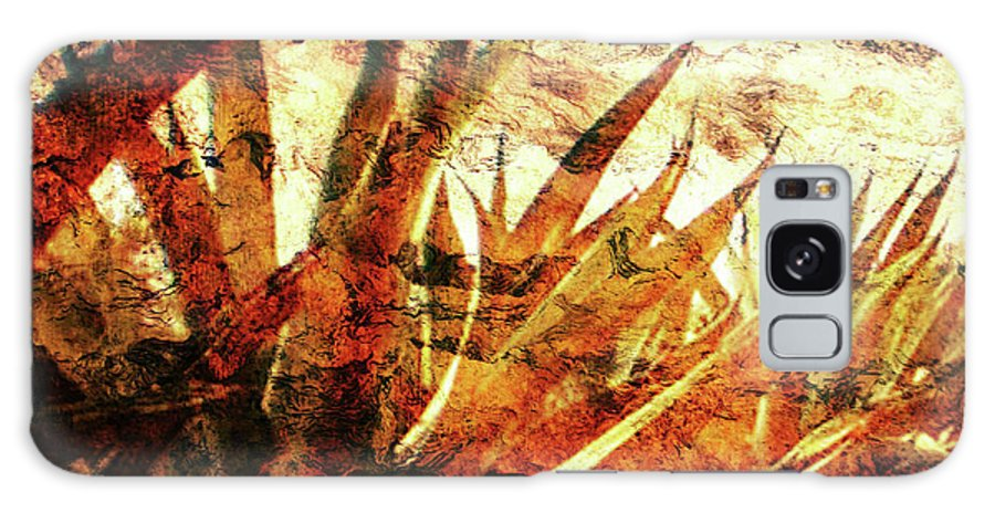 Agave Paintings Galaxy S8 Case featuring the digital art T E Q U I L A  . F I E L D by J - O  N  E