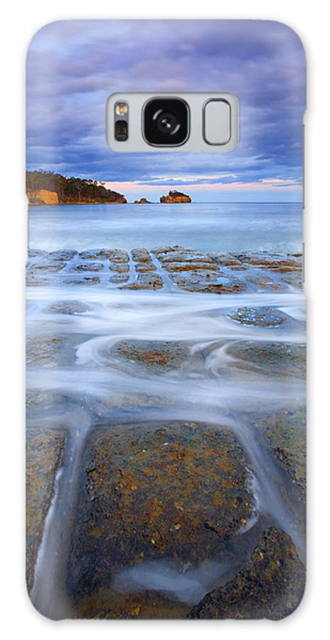 Sunset Galaxy Case featuring the photograph Tesselated Sunset by Mike Dawson