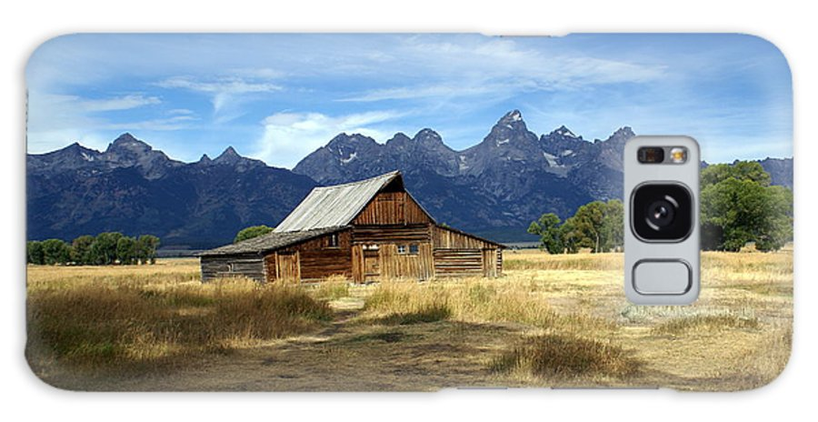 Grand Teton National Park Galaxy S8 Case featuring the photograph Teton Barn 3 by Marty Koch