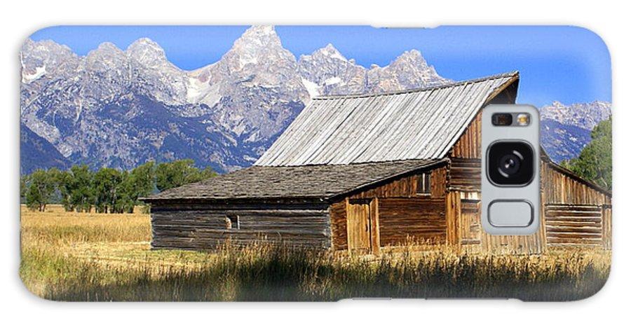 Grand Teton National Park Galaxy S8 Case featuring the photograph Teton Barn 5 by Marty Koch