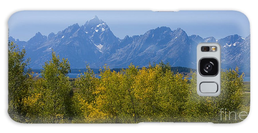 Teton Galaxy S8 Case featuring the photograph Teton Range by Idaho Scenic Images Linda Lantzy