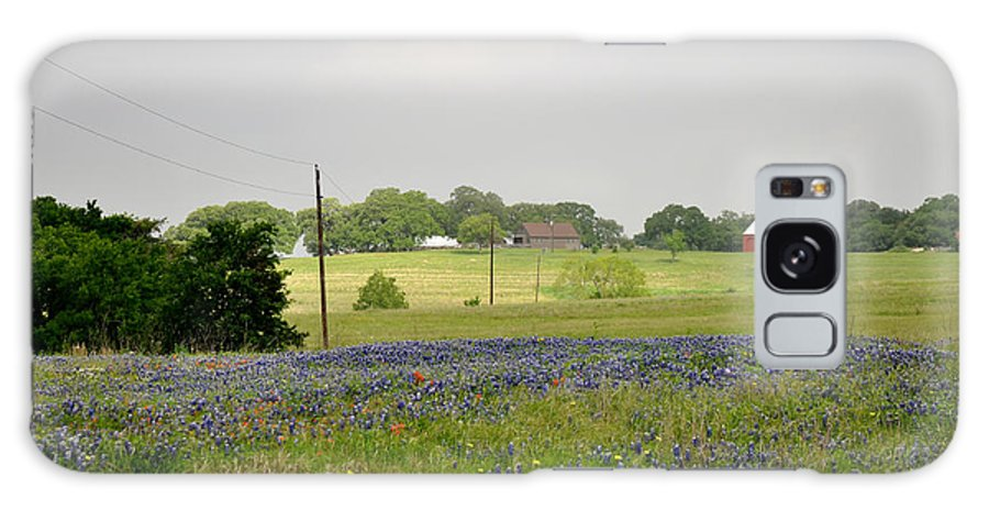 Texas Galaxy Case featuring the photograph Texas Bluebonnets by Keith Gondron