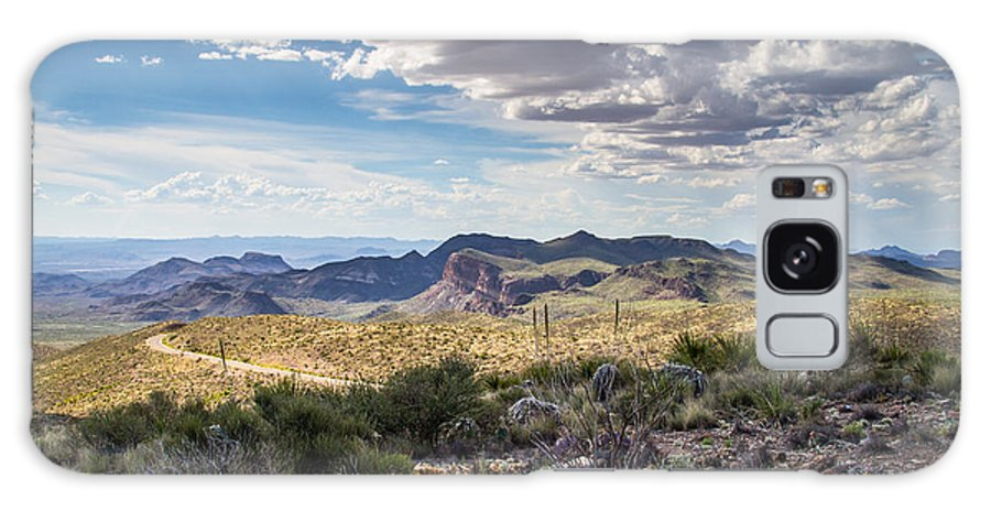Big Bend National Park Galaxy S8 Case featuring the photograph Texas Landscapes #3 by Robert J Caputo