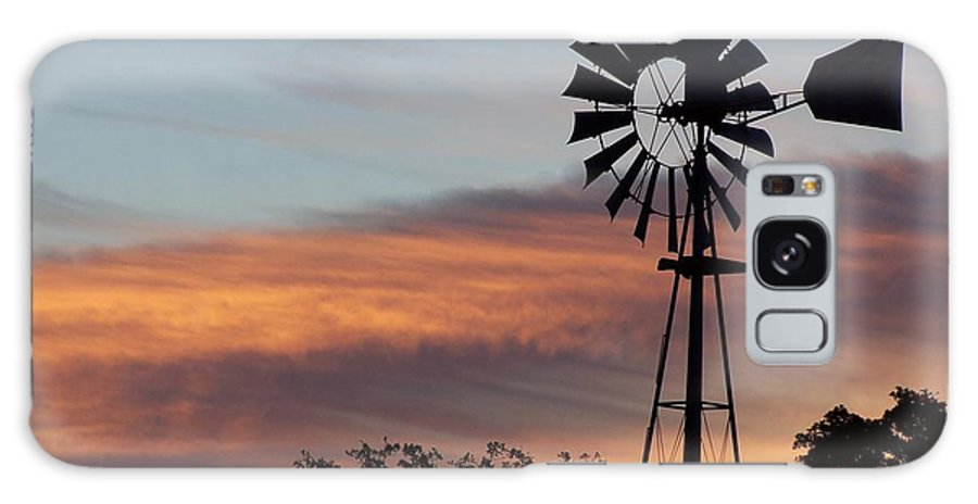 Windmill Galaxy Case featuring the photograph Texas Sunrise by Gale Cochran-Smith