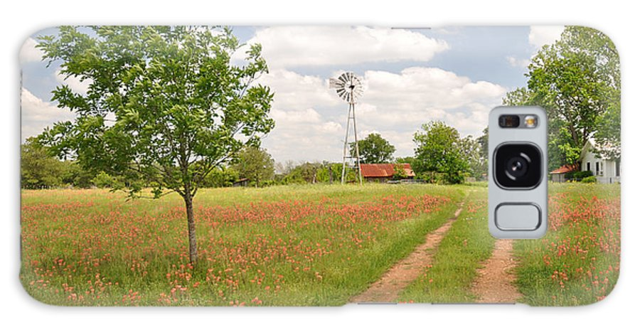 Texas Galaxy Case featuring the photograph Texas Wildflowers by Keith Gondron