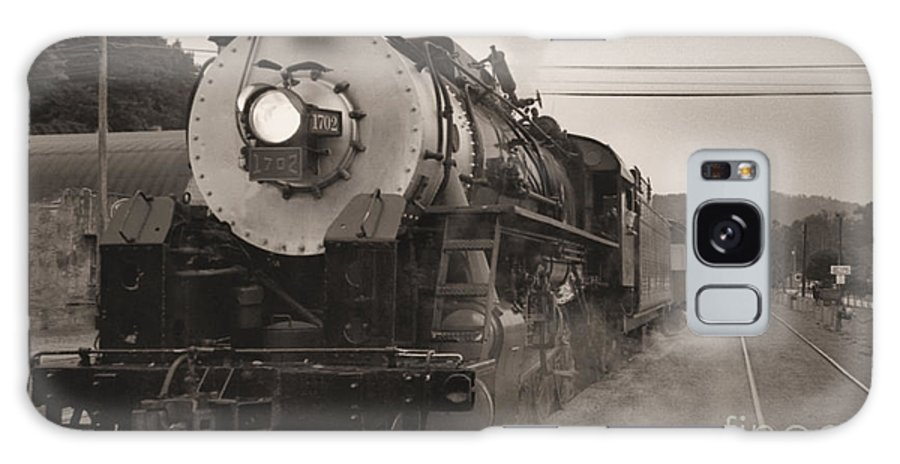 Trains Galaxy Case featuring the photograph The 1702 At Dillsboro by Richard Rizzo