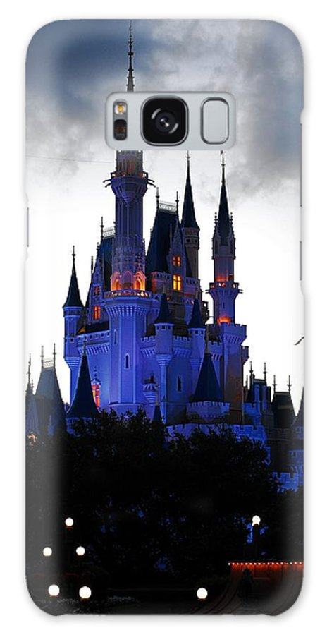 Disney Galaxy S8 Case featuring the photograph The Amethyst Palace by Robert Meanor
