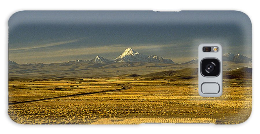 Latin America Galaxy Case featuring the photograph The Andes by Michael Mogensen