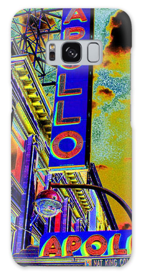 Harlem Galaxy S8 Case featuring the photograph The Apollo by Steven Huszar