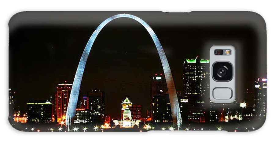 St Louis Galaxy S8 Case featuring the photograph The Arch by Anthony Jones