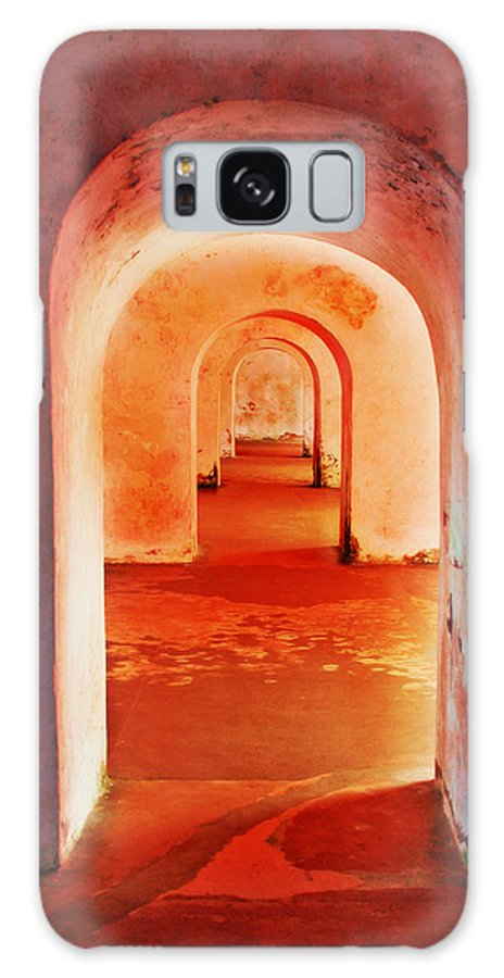 Arch Galaxy S8 Case featuring the photograph The Arches by Perry Webster