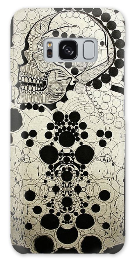 Michael Kulick Galaxy S8 Case featuring the painting The Art Of Abstraction by Michael Kulick