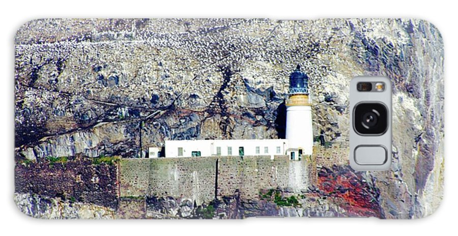 Lighthouse Galaxy S8 Case featuring the photograph The Bass Lighthouse by Hannah Goddard-Stuart