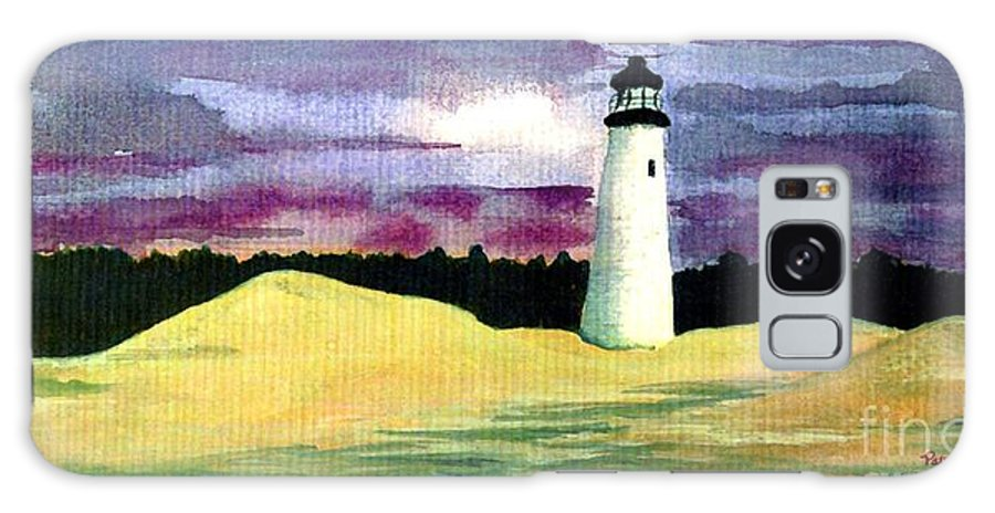 Fine Art Galaxy Case featuring the painting The Beacon by Patricia Griffin Brett