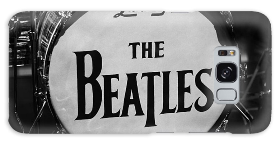 The Beatles Drum Galaxy Case featuring the photograph The Beatles Drum by Dan Sproul