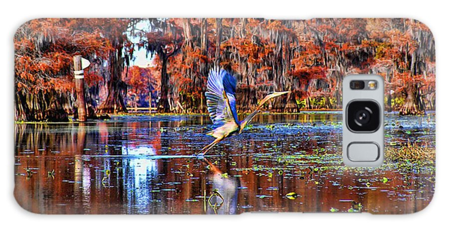 Heron Galaxy S8 Case featuring the mixed media The Beauty Of Nature by Tyler Robbins