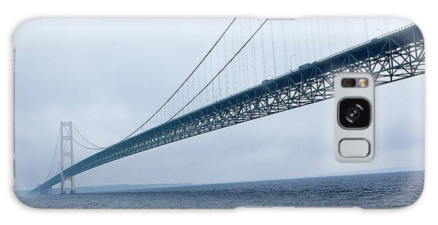 Mackinac Bridge Galaxy S8 Case featuring the photograph The Big Mac by Rich Sirko