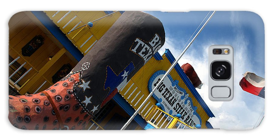 The Big Texan Galaxy S8 Case featuring the photograph The Big Texan II by Susanne Van Hulst