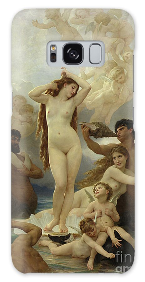 The Galaxy S8 Case featuring the painting The Birth Of Venus by William-Adolphe Bouguereau