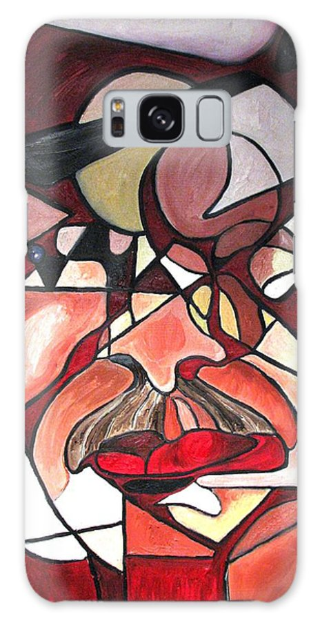 Abstract Galaxy Case featuring the painting The Brain Surgeon by Patricia Arroyo