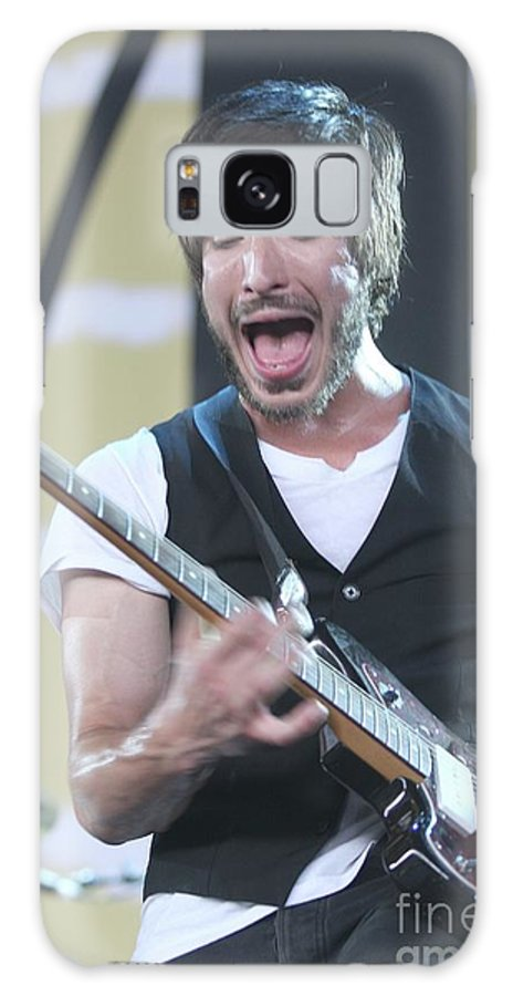 The Bravery Galaxy S8 Case featuring the photograph The Bravery Michael Zakarin by Concert Photos