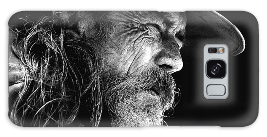 Australian Bushman Hat Galaxy Case featuring the photograph The Bushman by Sheila Smart Fine Art Photography