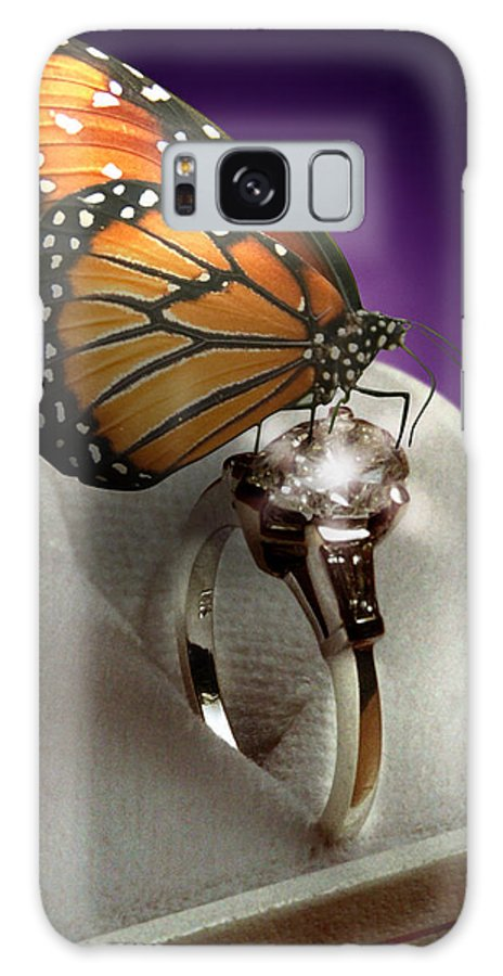 Fantasy Galaxy S8 Case featuring the photograph The Butterfly And The Engagement Ring by Yuri Lev