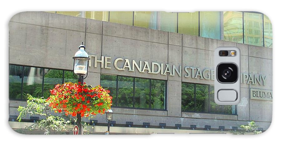 Canada Galaxy S8 Case featuring the photograph The Canadian Stage Company by Ian MacDonald