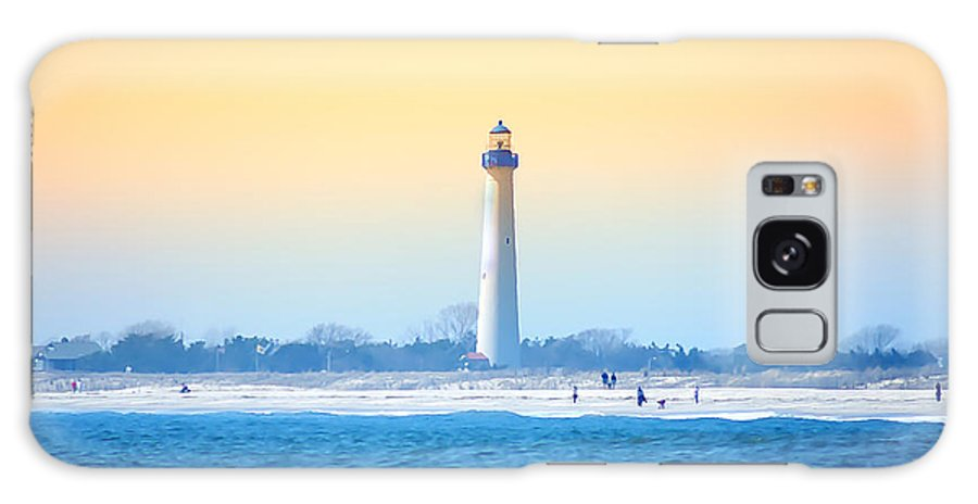 Cape May Galaxy S8 Case featuring the photograph The Cape May Light House by Bill Cannon