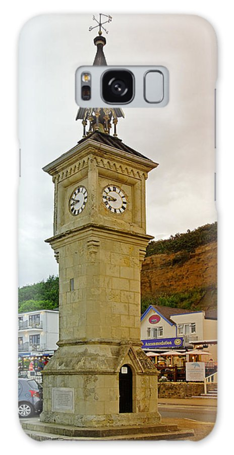 Shanklin Galaxy S8 Case featuring the photograph The Clock Tower At Shanklin by Rod Johnson